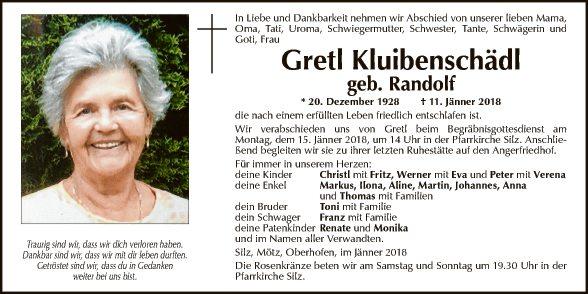 Gretl Kluibenschädl