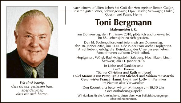 Toni Bergmann