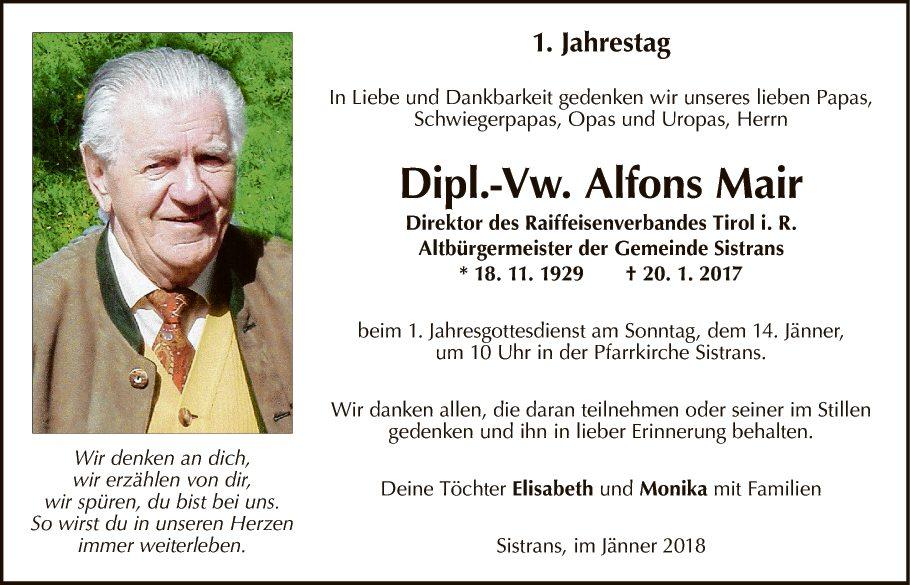 Alfons Mair