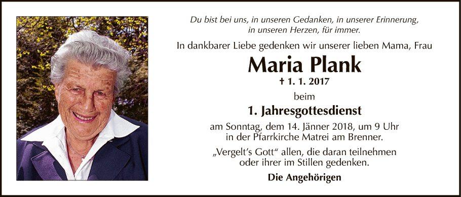 Maria Plank