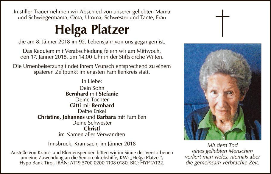 Helga Platzer