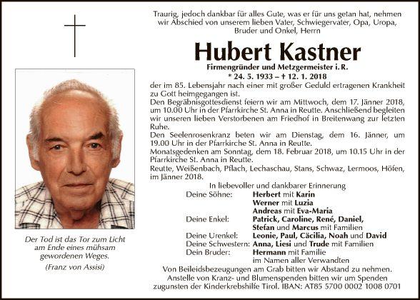 Hubert Kastner