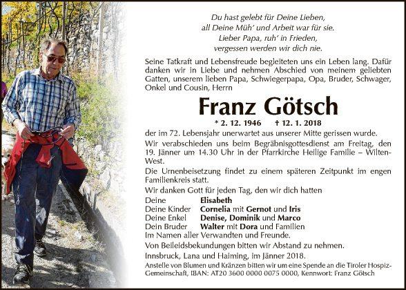 Franz Götsch