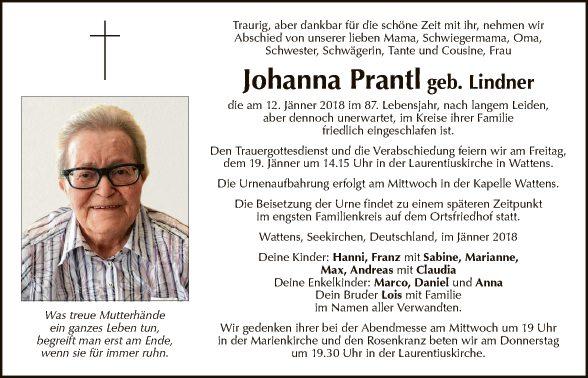 Johanna Prantl
