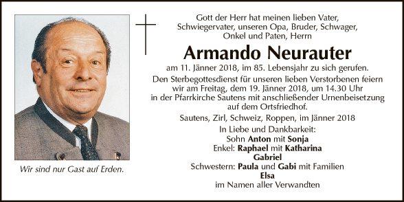 Armando Neurauter
