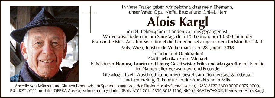 Alois Kargl