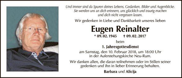 Eugen Reinalter