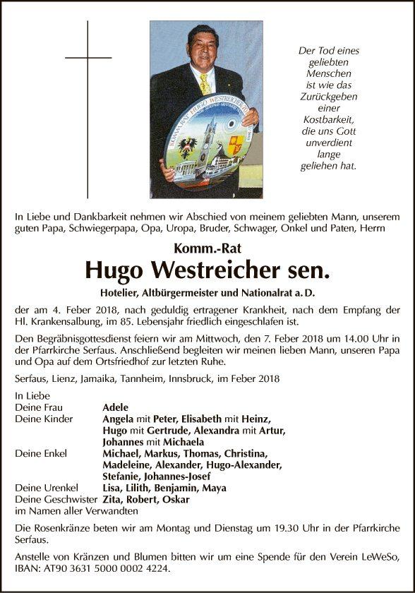 Hugo Westreicher
