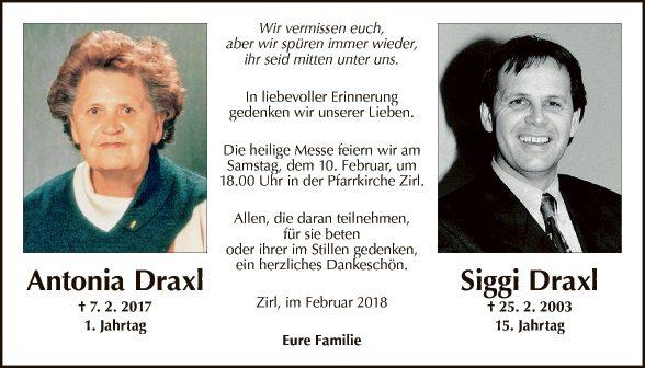 Antonia und Siggi Draxl