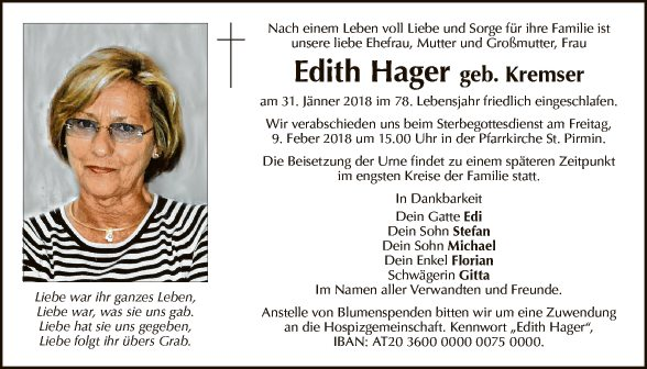Edith Hager