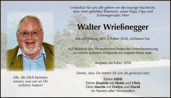 Walter Wrießnegger