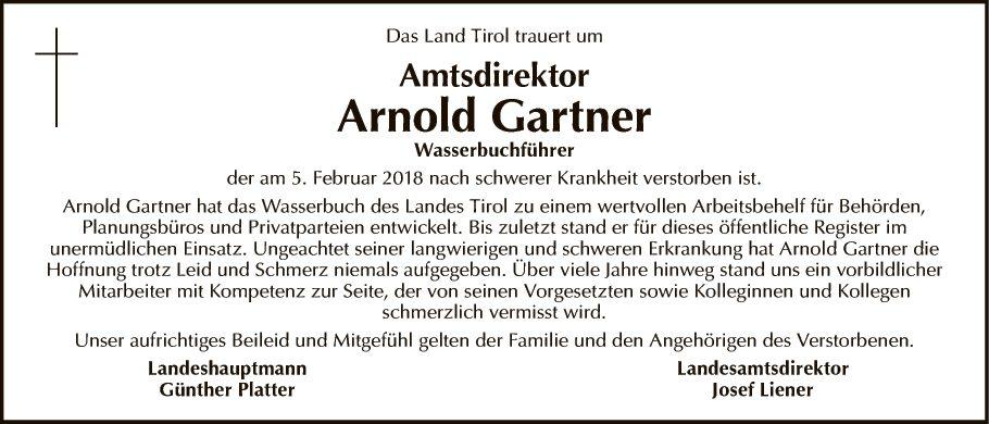 Arnold Gartner