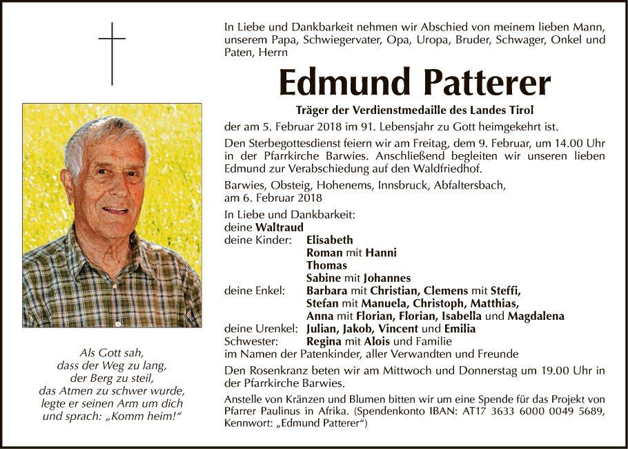 Edmund Patterer
