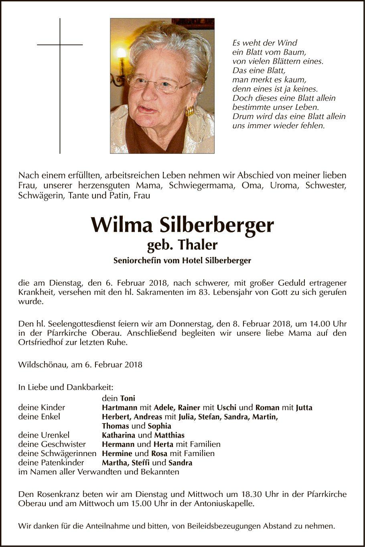 Wilma Silberberger