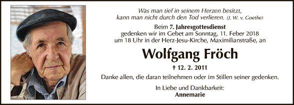 Wolfgang Fröch