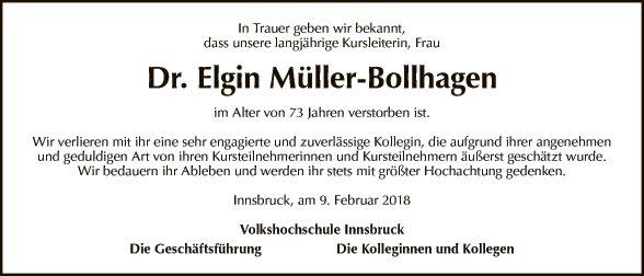 Dr. Elgin Müller-Bollhagen