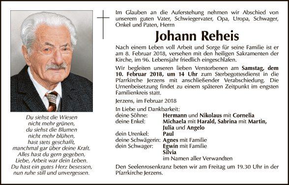 Johann Reheis