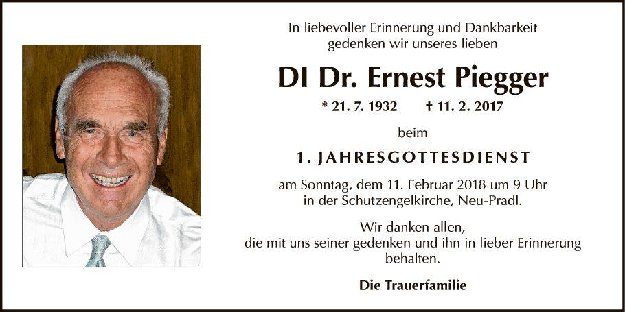 DI Dr. Ernst Piegger