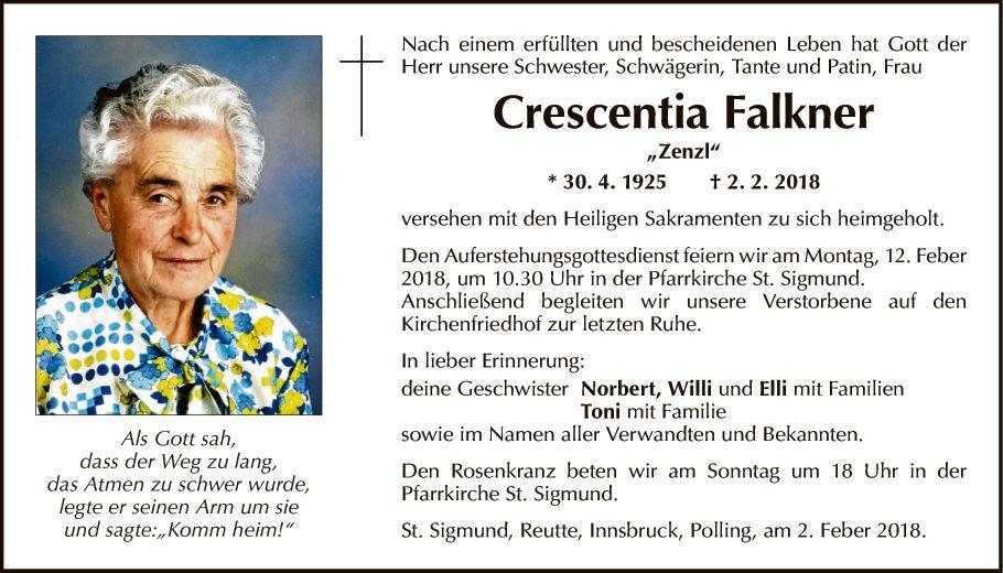 Crescentia Falkner