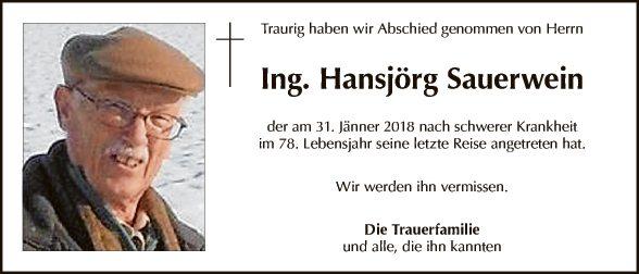 Hansjörg Sauerwein