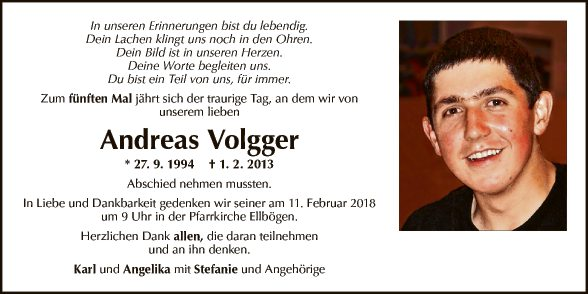 Andreas Volgger