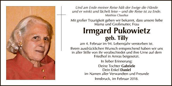 Irmgard Pukowietz