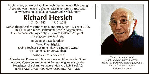 Richard Hersich