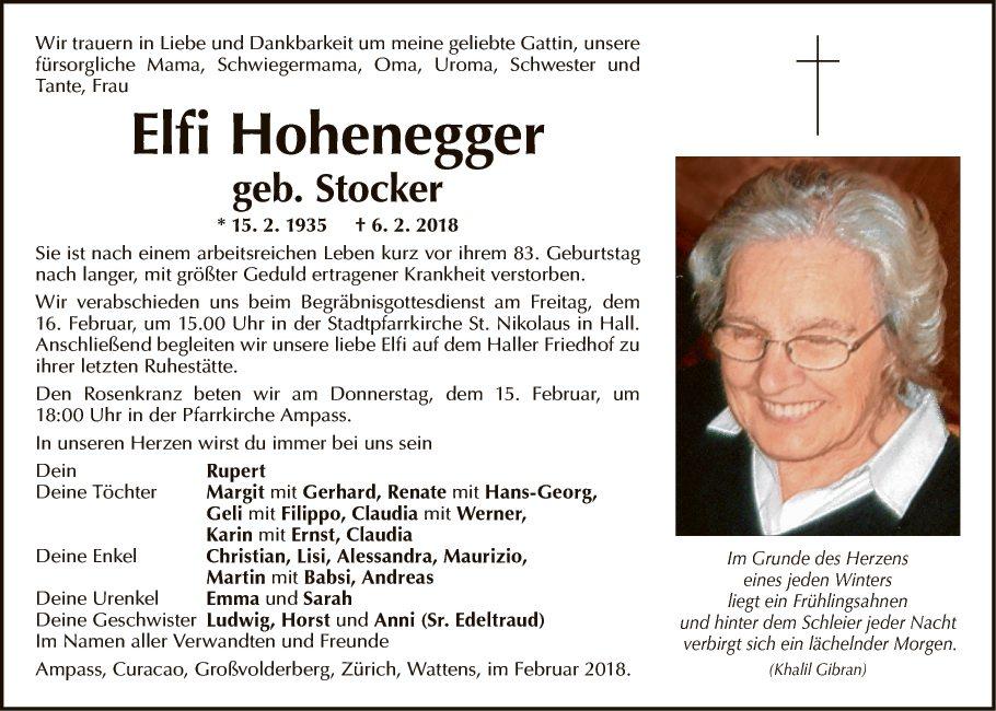 Elfriede Hohenegger