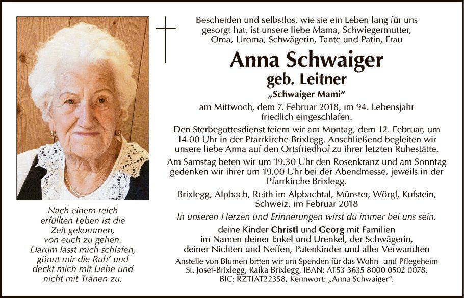 Anna Schwaiger