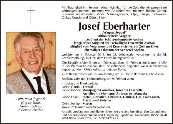 Josef Eberharter