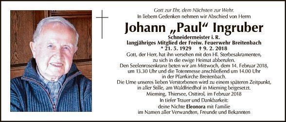 Johann Paul Ingruber