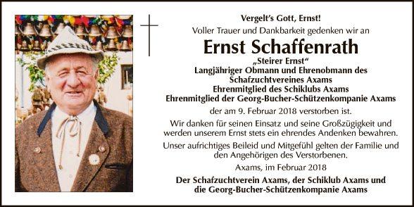Ernst Schaffenrath
