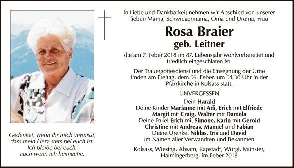 Rosa Braier