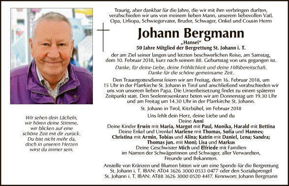 Johann Bergmann