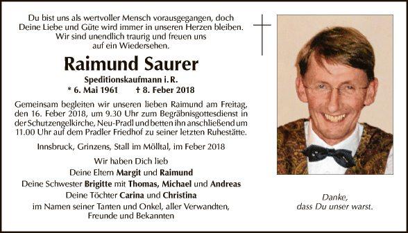 Raimund Saurer