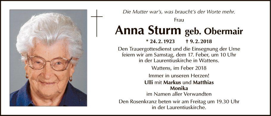 Anna Sturm