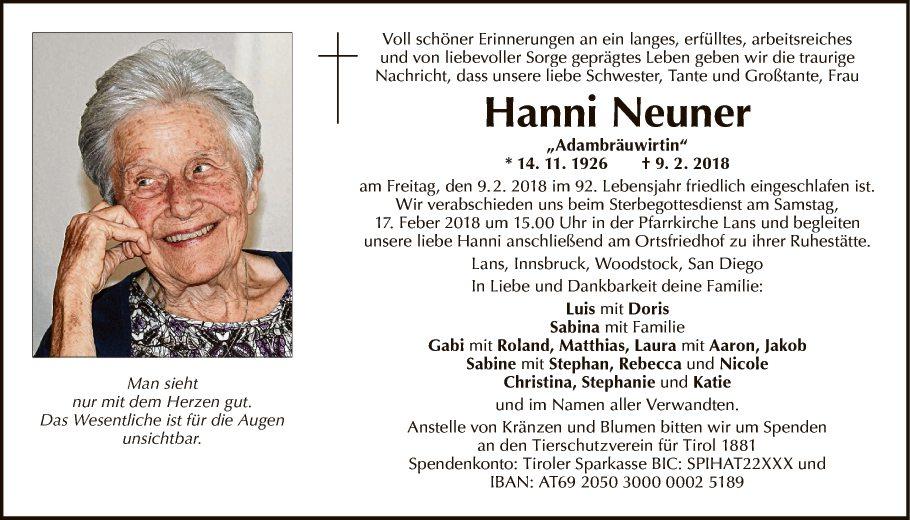 Johanna Neuner