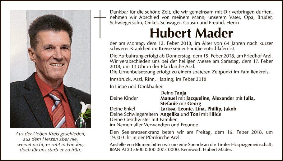 Hubert Mader