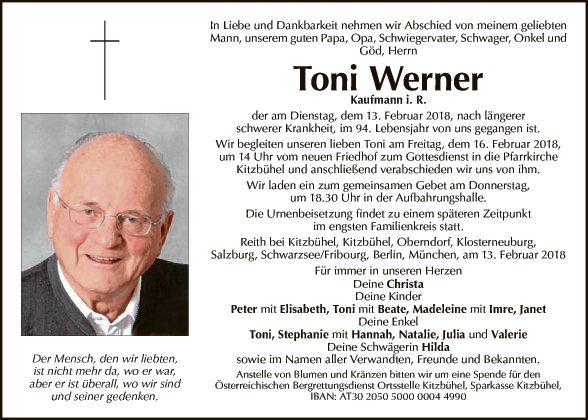 Toni Werner