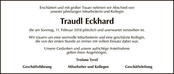 Traudl Eckhard