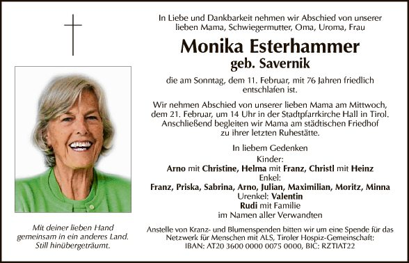 Monika Esterhammer