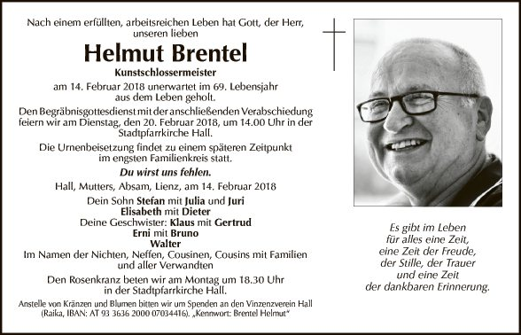 Helmut Brentel