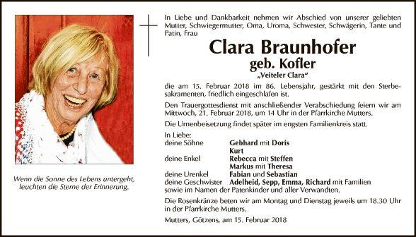 Clara Braunhofer