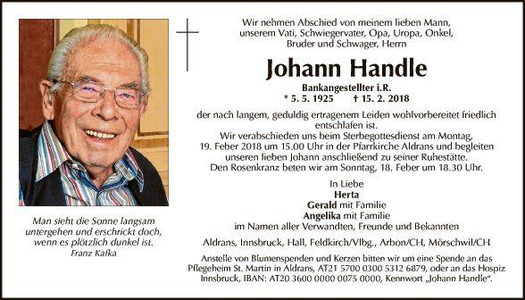 Johann Handle