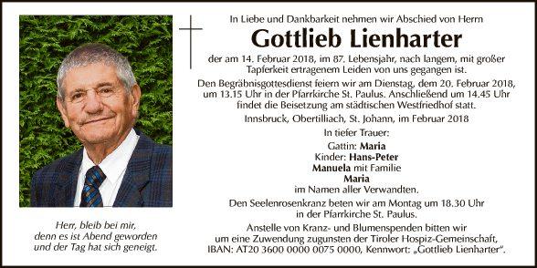 Gottlieb Lienharter