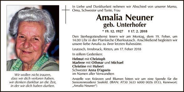 Amalia Neuner
