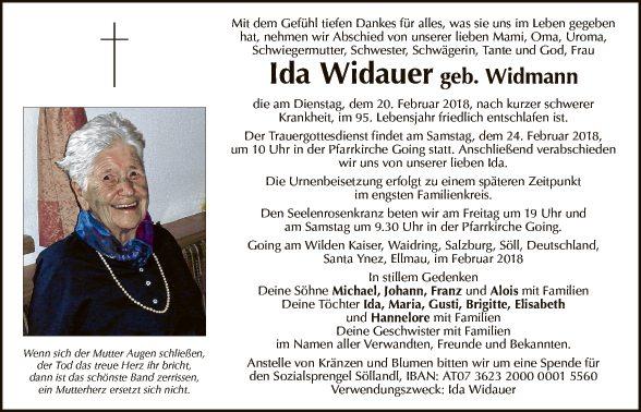 Ida Widauer