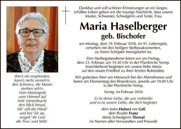 Maria Haselberger