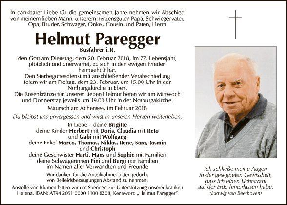 Helmut Paregger