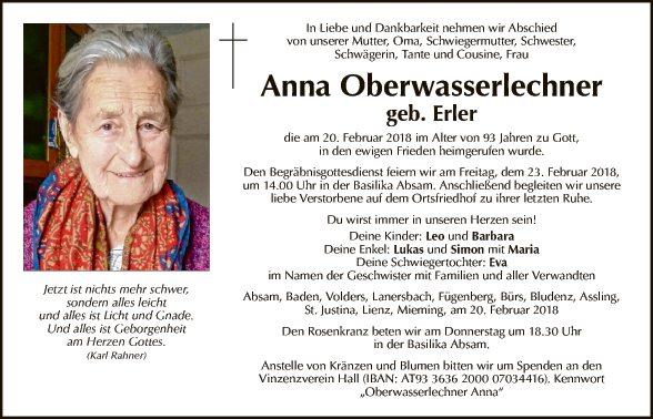 Anna Oberwasserlechner